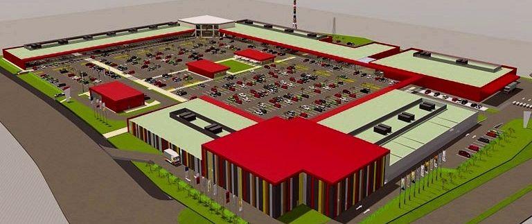 """Otvaranje maloprodajnog kompleksa """"Capitol Park Rakovica"""" u aprilu 2017."""